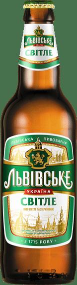 Lvivske Svitle Pale Lager 4,5% Vol. 24 x 33 cl Ukraine