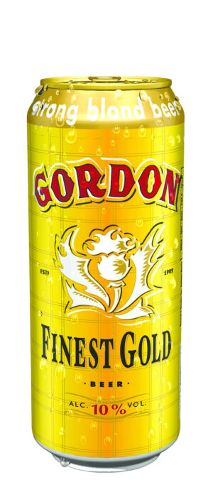 Martin's Gordon Finest Gold boîte 10% Vol. 24 x 50 cl Dose Belgien