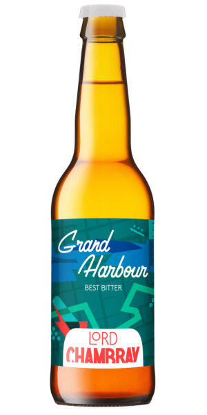 Lord Chambray Grand Harbour 3.9% Vol. 12 x 33 cl Malta