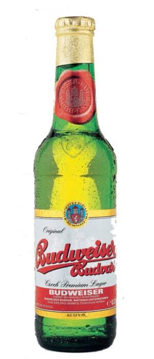 Budweiser Premium Lager 5% Vol. 24 x 33 cl Tschechische Republik