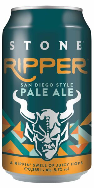 Stone Ripper Pale Ale 5.7% Vol. 24 x 35 cl Dose Deutschland / Amerika