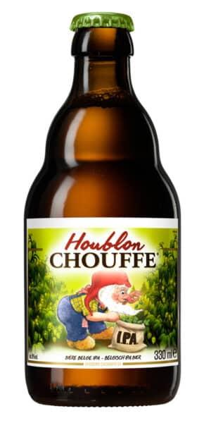 La Chouffe Houblon 2X IPA 9% Vol. 24 x 33 cl Belgien