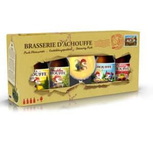 La Chouffe Val. Chouffe 4B33+ 1Ve 8% Vol. Geschenkset Belgien
