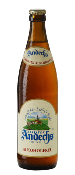 Andechs Weißbier alkoholfrei 0.5% Vol. 20 x 50 cl MW Deutschland