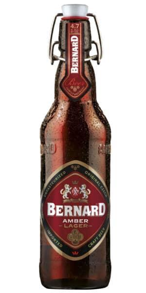 Bernard Amber Lager 4.7% Vol. 20 x 50 cl Tschechien