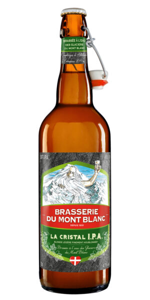 Mont Blanc Cristal IPA 4.7% Vol. 9 x 75 cl Frankreich