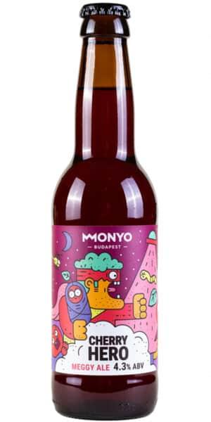 Monyo Cherry Hero 4.3% Vol. 12 x 33 cl Ungarn