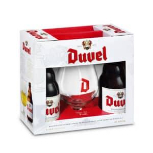 Duvel Val. Duvel 2B33 + 1VE Geschenkset Belgien