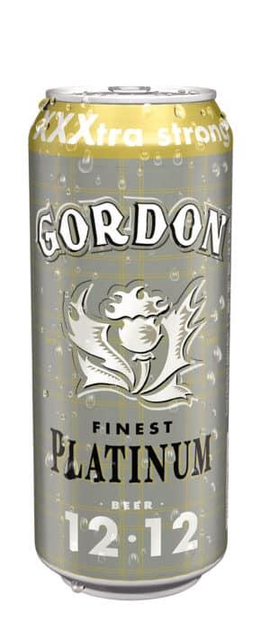 Martin's Gordon Finest Platinum boîte 12% Vol. 24 x 50 cl Dose Belgien