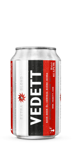 Duvel Vedett Extra Blond 5.2% Vol. 24 x 33 cl Dose Belgien