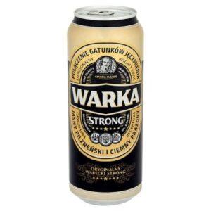 Warka Strong 6,5% Vol. 24 x 50 cl Dose Polen
