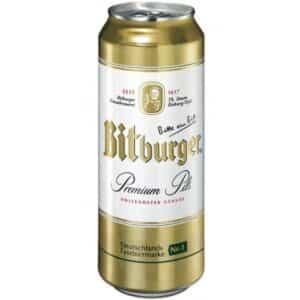 Bitburger Premium Pils 4,8% Vol. 24 x 50 cl Dose Deutschland
