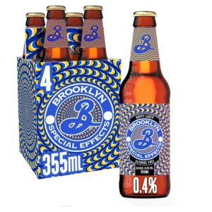 BROOKLYN Special Effects Hoppy Lager alkoholfrei 0,4% Vol. 24 x 35,5 cl Amerika