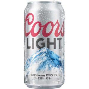 Coors Light 4.2% 12 x 35,5 cl Dose Amerika