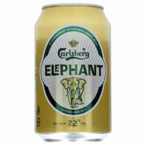 Carlsberg Elefant Premium Strong 7,2% Vol. 24 x 33 cl Dosen Dänemark