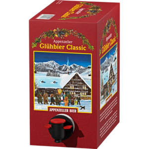 Appenzeller Glühbier classic 6,0% Vol. 3 Liter Bag in Box
