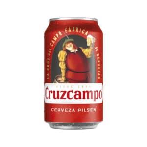 Cruzcampo especial Pilsen 5,6% Vol. 24 x 33 cl Dose Spanien