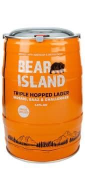 Shepherd Neame Bear Island Mini Fut 4,6% Vol. 5 Liter Partyfass England