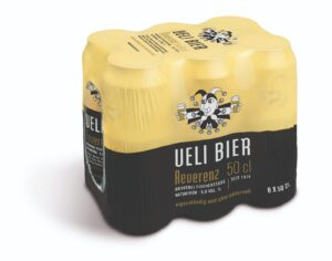 Ueli Bier Reverenz 5.0% Vol. 24 x 50 cl Dose