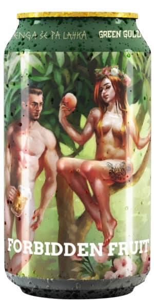 Green Gold Forbidden Fruit 4.7% Vol. 24 x 33 cl Dose Slowenien