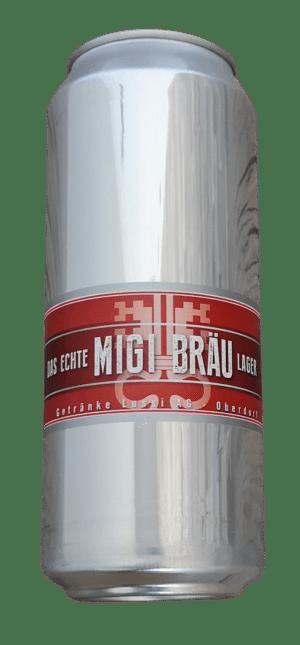 Migi Bräu Lager 5,0% Vol. 24 x 50 cl Dose