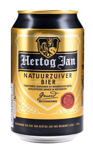 Hertog Jan Pilsener Beer 5,1% Vol. 24 x 33 cl Dose Holland