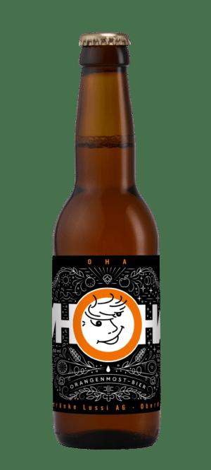 Lussi OHA – Orangenmostbier 2,2% Vol. 24 x 33 cl