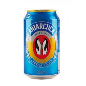 Antarctica Cerveja Pilsen 4,7% Vol. 24 x 35,0 cl Dose Brasilien