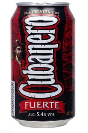 Cubanero Fuerte 5,4% Vol. 24 x 35,5 cl Dose Kuba