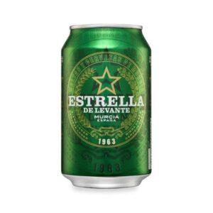 Estrella de Levante 4,8% Vol. 24 x 33 cl Dose Spanien