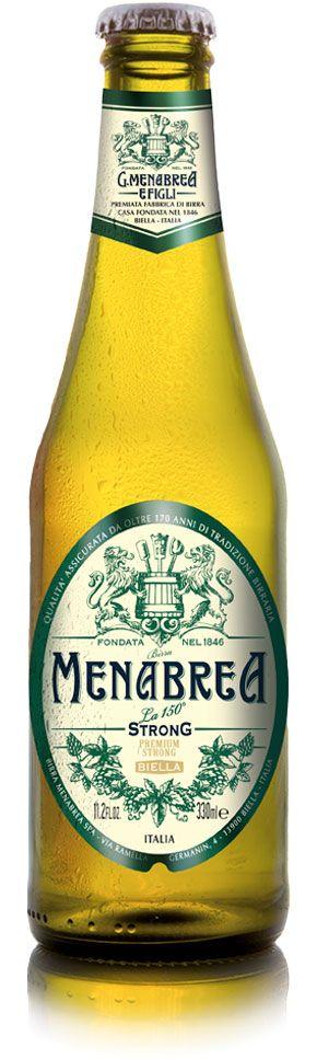 Menabrea Strong 8,0% Vol. 24 x 33 cl Italien