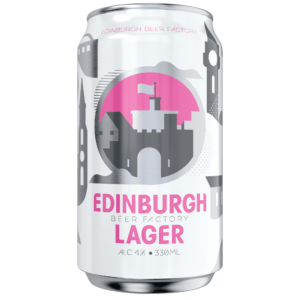 Edinburgh Lager 4,0% Vol. 24 x 33 cl Dose