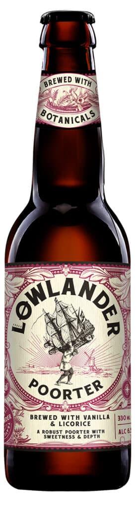 Lowlander Porter 6,0% Vol. 24 x 33 cl Holland