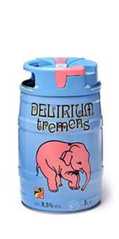 Delirium Tremens 8,5% Vol. 5 Liter Partyfass Belgien