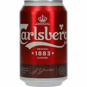 Carlsberg 1883 4,6% 24 x 33 cl Dosen Dänemark