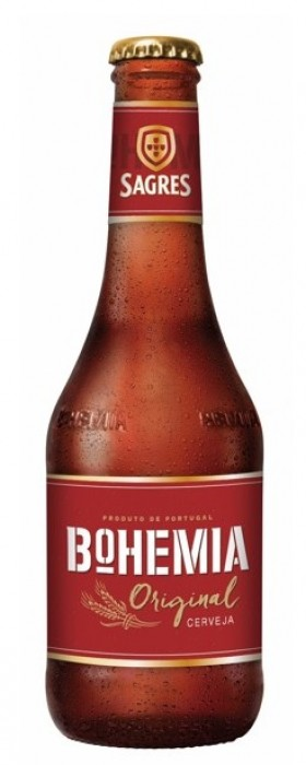 Sagres Bohemia original 6,2% Vol. 24 x 33 cl Portugal