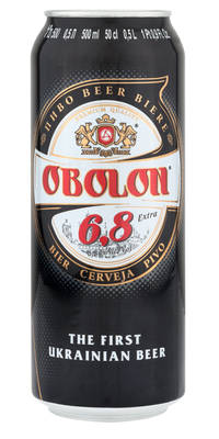 Obolon 6,8 Extra 6,8% Vol. 24 x 50 cl Dose Ukraine