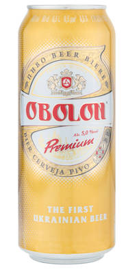 Obolon Premium 5,0% Vol. 24 x 50 cl Dose Ukraine