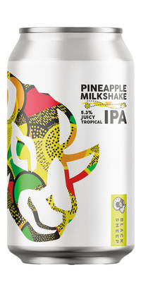 Black Sheep Pineapple Milkshake IPA 6,1% Vol. 12 x 33 cl Dose England