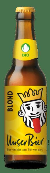 Unser Bier Blonde 5% Vol. 24 x 33 cl