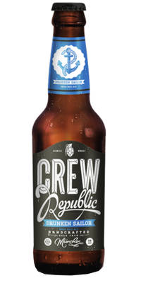 CREW Republic Drunken Sailor India Pale Ale 6,4% Vol. 24 x 33 cl Deutschland