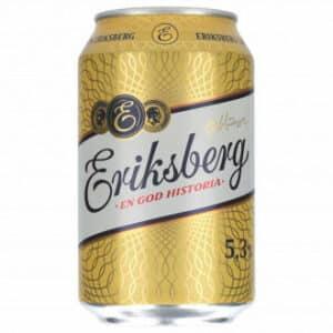 Eriksberg 5,3 % Vol. 24 x 33 cl Dose Schweden