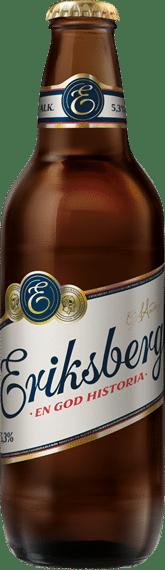 Eriksberg original Pilsner 5,3 % Vol. 24 x 50 cl Schweden