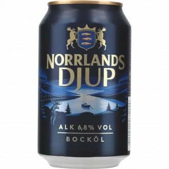 Norrlands Guld Djup 6,8% Vol. 24 x 33 cl Dose Schweden