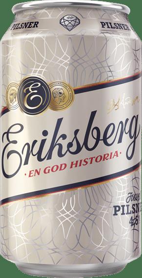 Eriksberg Juvelpilsner 4,5 % Vol. 24 x 33 cl Dose Schweden