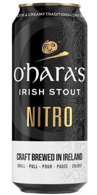 O'Hara's Nitro Stout 4,3% Vol. 24 x 44 cl Dose Irland