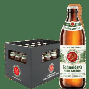 Schneider Helles Landbier 4,9% Vol. 20 x 50 cl MW Deutschland