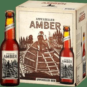 Appenzeller Amber 5,0% Vol. 24 x 33 cl