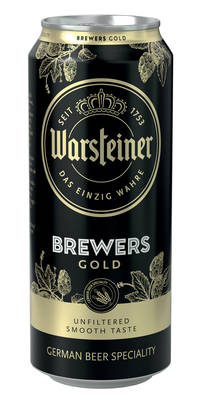 Warsteiner Brewers Gold 5,2% Vol. 24 x 50 cl Dosen Deutschland