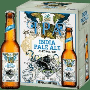 Appenzeller IPA alkoholfrei 0,0% Vol. 24 x 33 cl